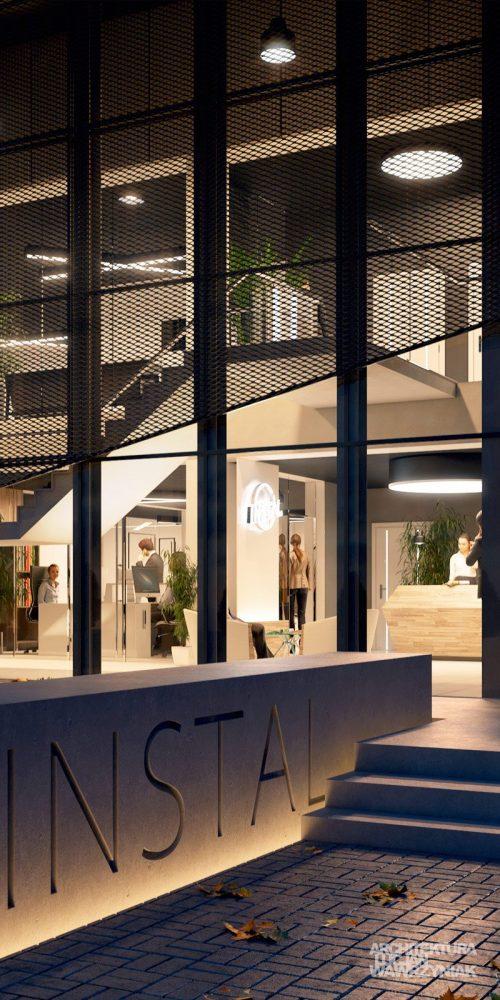 Wizualizacja hali ver.2,wizualizacje architektoniczne