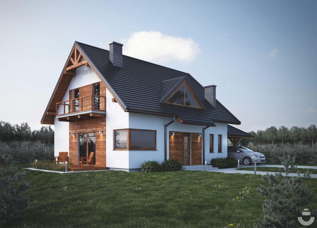Wizualizacja 3D domu ver.2